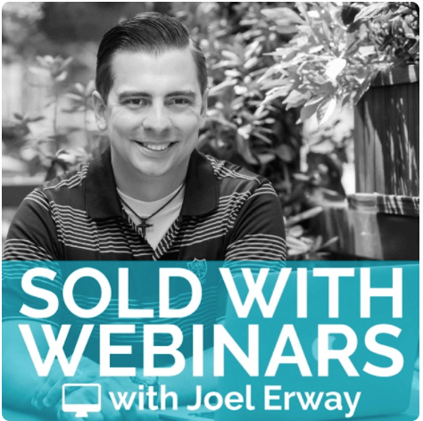 Susan on the Sold With Webinars podcast